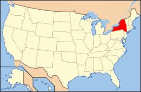 map of new york ny new york state maps usa of ny with usa map states