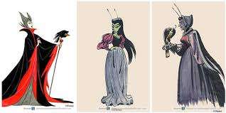 original disney character sketches