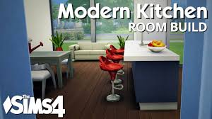 modern kitchen idea the sims 4 room build modern kitchen youtube