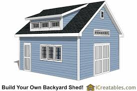 Dormer Installation Cost 16x20 Shed Plans With Dormer Icreatables Com
