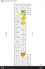college dorm floor plans john jay hall housing