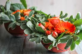How To Make Flower Arra How To Make A Flower Arrangement In A Bowl Sweetphi