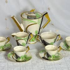 Coffee Set 1930s deco coffee set soho pottery ambassador ware