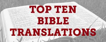 Donnie Barnes Bible Charts Top Ten Bible Translations In The United States Thomrainer Com