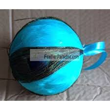 peacock balls peacock feather balls ornaments 6 inch wholesale