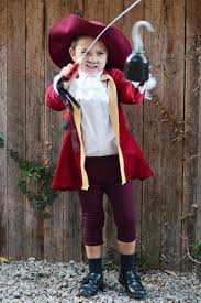 diy captain hook halloween costume for kids captain hook