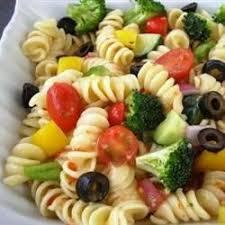 Cold Pasta Salad Recipe Vegetarian Pasta Salad Recipes Allrecipes Com