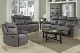 sofa loveseat and chair set volo espresso leather reclining sofa set levoluxe