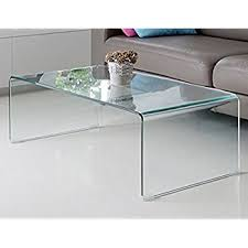 Glass Rectangle Coffee Table Classon Glass Rectangle Coffee Table With Shelf
