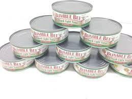 bumble bee chunk light tuna bumble bee chunk light tuna in oil pack of 10 international goods
