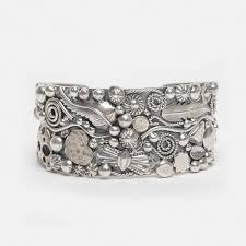 handmade silver charm bracelet images Handmade sterling silver quot charm quot bracelet by philbert secatero jpg