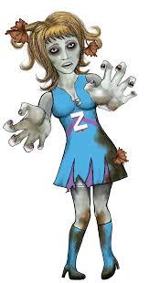 Zombie Cheerleader Zombie Cheerleader On Behance