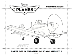 disney planes printable dusty coloring sheet disney pinterest