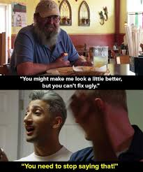 Abby Meme - tom and abby from queer eye are now back together again and oh