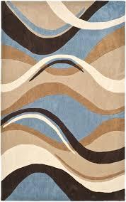 fashionable brown and blue area rug u2013 classof co