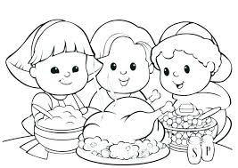 coloring pages for kindergarten free thanksgiving printable coloring