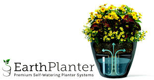 commercial self watering planter systems earthplanter