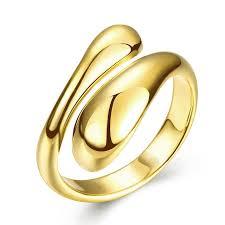 aliexpress buy gents rings new design yellow gold aliexpress buy new design brief rings for women men gold