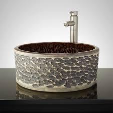 round striking vessel sink signature hardware