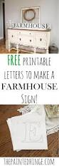 free printable letters to make a farmhouse sign printable