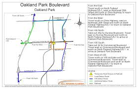 I 95 Map Oakland Park Fl Official Website