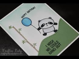 happy pandas birthday card youtube