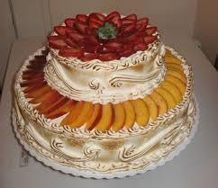 strawberry u0026 nectarine tres leches 3 milks wedding cake