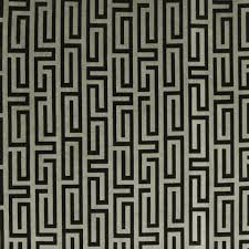 Gray Velvet Upholstery Fabric Greek Key Velvet Upholstery Fabric Black Grey Velvet Drapery