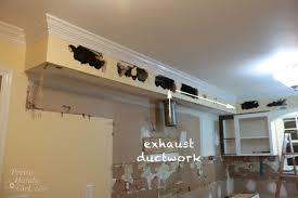 kitchen bulkhead ideas how to remove a soffit kitchen renovation update pretty handy
