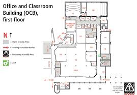 jccc map office and classroom building map ocb