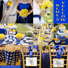 Royal Blue And Silver Wedding Yellow Wedding Color U2013 Combination Options Exclusively Weddings