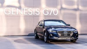 new genesis g70 revealed to take on bmw 3 series