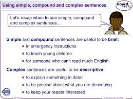 simple and compound sentences worksheets the best and most