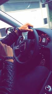 my audi me in my car with my audi on we it