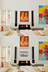 fernsehwand ideen für einen tollen blickfang in wohn u0026 schlafzimmer