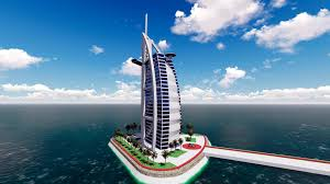 Burj Al Arab by Sketchup Burj Al Arab Youtube