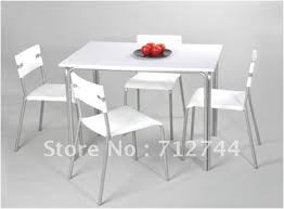 white mdf table top dining set white mdf table top and white pp chair attractive