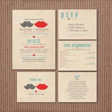trendy printable wedding invitations