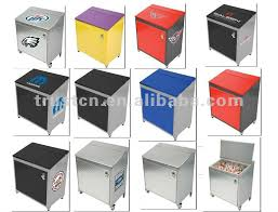 60l patio cooler display rolling cooler cooler with wheel ice