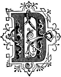 d ornamental letter clipart etc