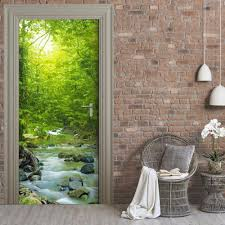 Home Decor Waterfalls by Online Get Cheap Waterproof Wall Stickers Waterfalls Aliexpress