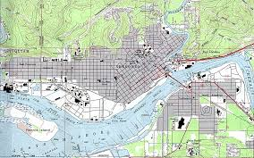 Map Of Washington by 1up Travel Maps Of Washington Aberdeen Topographic Map