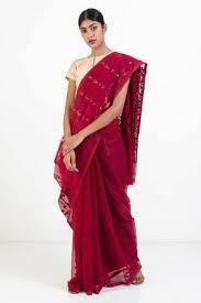 dhakai jamdani saree online saree dhakai jamdani saree with self weave motif online