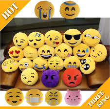 fashion diameter 12 5inch 32cm 19 designs cute emoji pillow smiley