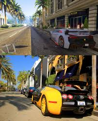 gta v los santos vs real life los angeles comparison screenshots
