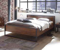 Schlafzimmer Abverkauf Terreich Bett Bettgestell Detroit 180x200cm Stirling Oak Schiefer Neu