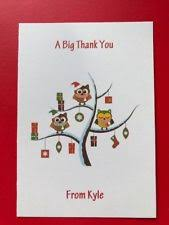 christmas thank you cards ebay