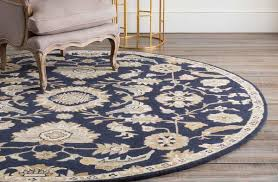 Brown Round Rugs Rugs Froy