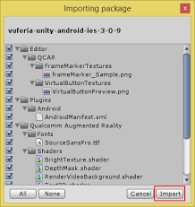 android studio vuforia tutorial vuforia cannot detect image target and view 3d object in unity