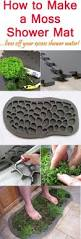 how to make a moss shower mat need to make this for the back
